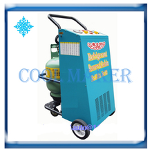 High efficiency full Automatic Auto AC compressor refrigerant machine refrigerant recovery & recycling machines(China)