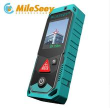 Buy Mileseey P7 80M Bluetooth Laser Rangefinder Rotary Touch Screen Rechargerable point finder camera 4X Laser Meter for $101.91 in AliExpress store