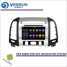 For Hyundai Santa Fe 2006~2012 DVD CD GPS Player Radio Navi Stereo HD Screen - Wince / Android Car Navigation Multimedia