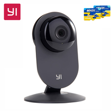 Xiaomi YI Home Camera With 32G SD Card HD 720P Wireless Camera Video Monitor Nectwork Night Version IP Camera WiFi Webcam