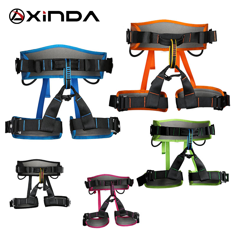 XINDA Camping Safety Belt Harnesses For Rock Climb Outdoor Expand Training Aerial Half Body Protective Supplies Survival<br>