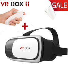 VR BOX 2.0 II Google 3D Glass Glasses/ VR Glasses Virtual Reality Case Cardboard Headset Helmet For Mobile Phone iPhone 7 6 6s 5(China)