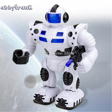 Abbyfrank Smart Space Robot Electric Soldier Walking Dancing Robot With Music And Light Astronaut Electronic Toys For Boys Gifts(China)