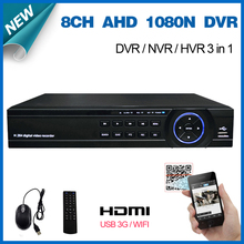 8 Channel 1080N H.264 Video Recorder 3 USB Port HDMI 1080P Network CCTV DVR 8CH for Home Security Camera Surveillance System