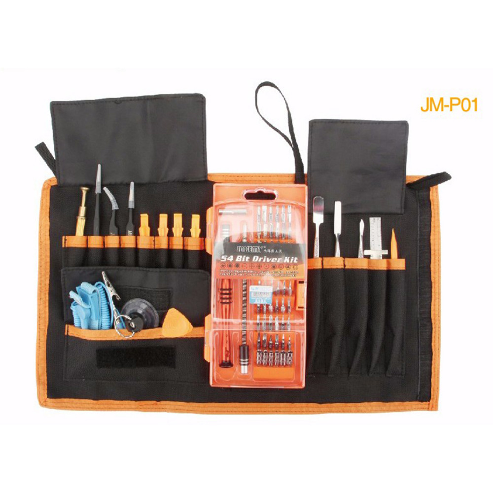 JAKEMY 74 in 1 Electronic Repair Tool Kit iPhone Smartphone Laptop Computer Electrical Magnetic Precision Screwdriver Repair Set<br>