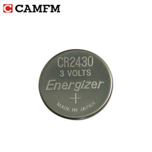 5pcs/lot 100% Original for Energizer CR2430 DL2430 3V Car remote control key Lithium button coin cell battery