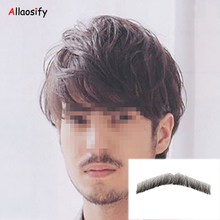 Allaosify Real hair invisible high-quality fake beard long-term use of stage theater convenient male life(China)