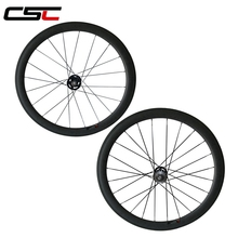 700C full carbon 50mm clincher fixed gear(track) wheel with CN spokes from taiwan original company