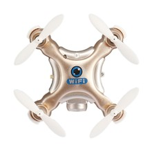 Mini CX-10W-TX 2.4G 6-Axis Gyro RC Quadcopter HD Camera Wifi Drone Drone with  6-Axis Gyro RC Headless Mode Remote Control Toy