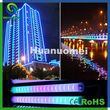 50cm rgb led tube light decorative outdoor building guardrail tube led light with 54leds(China)