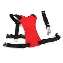 Red S Car Vehicle Auto Seat Safety Belt Seatbelt for Dog Pet(China)
