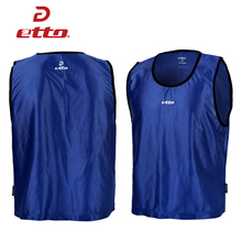 Etto New Soccer Jerseys 2016 2017 Uniforms Group Against Vest Football Jersey Training Vest Men Sports Sleeveless Shirt HUC039