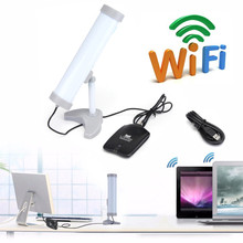 Newest 2.4GHz High Power 4200mW 150Mbps USB Wireless WiFi Adapter Network Card Antenna 802.11B / G / N Outdoor Long Range