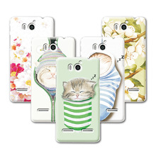 23 Patterns Transparent Side Hard Plastic Fruit Case Huawei Honor 2 U9508 U8950D Ascend G600 Case Cover Phone Case + Free Pen