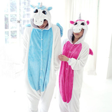 adult unicorn costume women accessories men pink blue unicorn costume unisex kawaii one piece polar fleece onesie pajamas