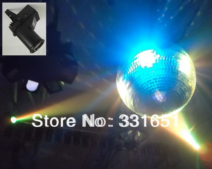 18pcs/lot Hot-sale multi-color zoom LED PinSpot Light RGBW 4IN1 6 Channels<br>