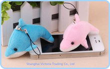10PCS Kawaii 7CM Dolphin Figure DOLL Plush Stuffed TOY DOLL - Phone Charm Strap Lanyard Pendant  BAG Key Chain