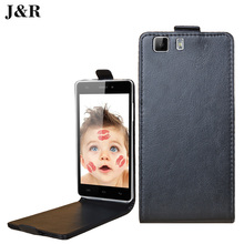 J&R X5 / X5 Pro PU Leather Case For Doogee X5 Phone Flip Cover Open Up And Down Brand 9 Colors
