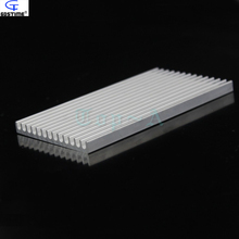 Gdstime 1 piece 100mm x 55mm x 6mm Aluminum Heatsink Radiator Router Heat Sink Chip Electronic Products Cooling Fan 100x55x6mm(China)