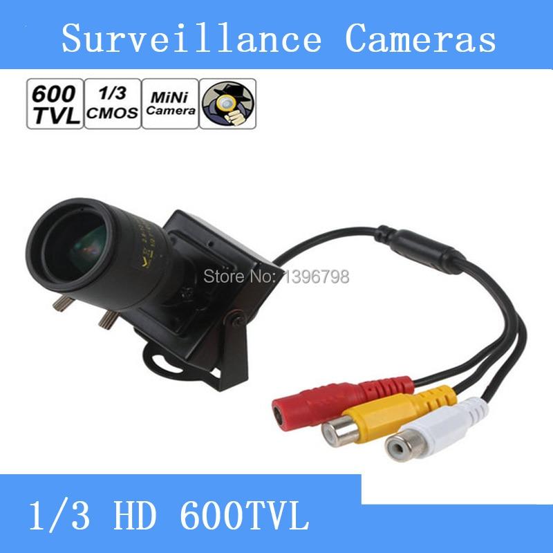 2.8-12mm Manual Lens Mini HD 600TVL 1/3 CMOS Security Video Color CCTV Camera<br>