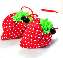New Women/Cheap Special Purpose Bags Fashion Cute Shopping Bags/Brand Cartoon Strawberry Shaped Shopping Bags(China)