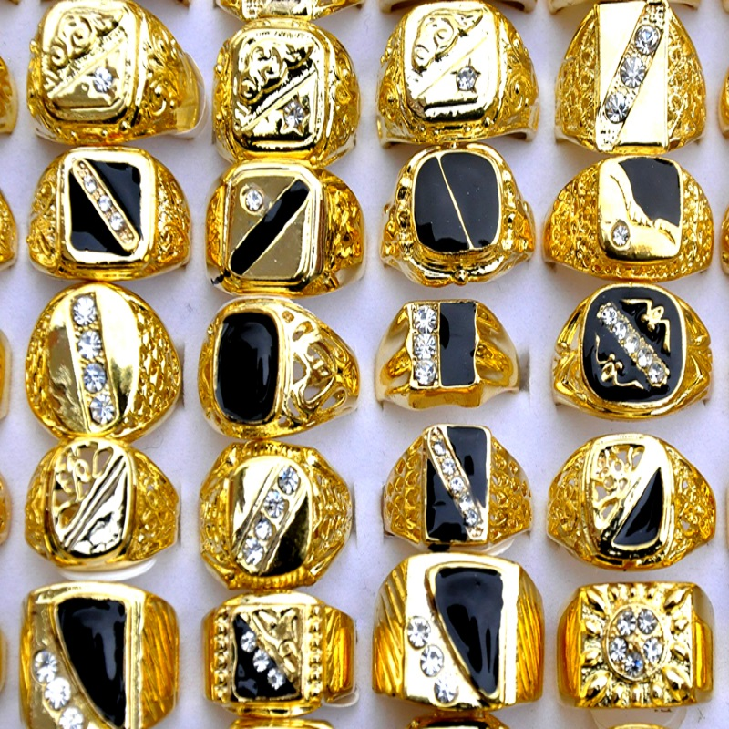 5-Pcs-lot-Luxury-Gold-Color-Men-Ring-Mosaic-AAA-CZ-Crystal-Party-Gift-Violent-Wide (5)