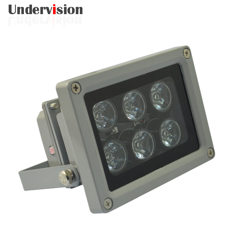 6pcs LED array LED  waterproof Lighting for Surveillance CCTV Camera,50M  Infrared LED Auxiliary  DC12V 8W fee shiping<br>