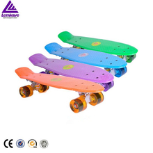 Fish Skateboard New Design Lenwave Brand Skate board Suitable For The Children Training Entertainment Playing Long Skate board
