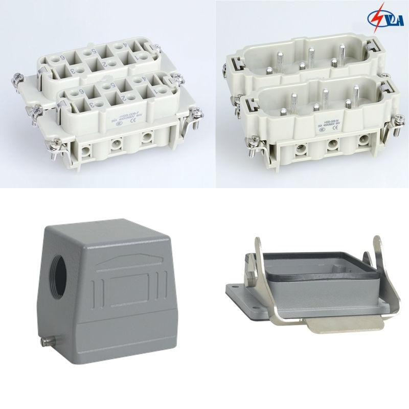 HSB-012 35A 12 pins 35A Heavy Duty Connector<br>