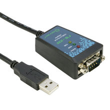 USB to RS232 Adapter USB2.0 Serial DB9 RS-232 DB-9pin Serial Port Converter Adapter Cable FTDI Chip 1m(China)