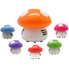 Creative Mushroom Mini Dust Collector Lovely Funny Best Vogue Modern Faddish(China)