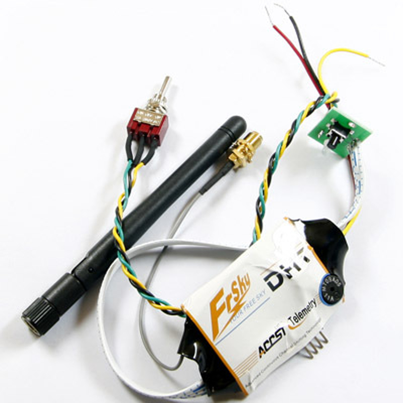 FrSky ACCST 2.4Ghz DHT module, DIY hack module for almost all PPM radio,  DHT toggle switch<br>
