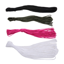 4 Colors 50 Feet Dia. 2mm One stand Cores Paracord for Survival Parachute Cord Lanyard Camping Climbing Rope Hiking Clothesline