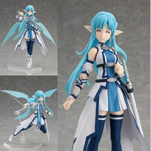 NEW hot 15cm Sword Art Online Yuki Asuna Water spirit movable collectors action figure toys Christmas doll