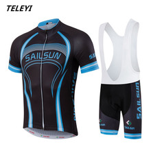 Sail Sun Team Pro Racing Cycling Jersey Ropa Ciclismo mtb Bicycle Cycling Clothing Breathable Bike Jersey Clothes Maillot(China)