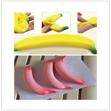 2017 New 18cm cartoon banana toys Squeeze Antistress Toy Pop Doll Novelty Stress Relief Venting Joking Decompression Funny Toys(China)