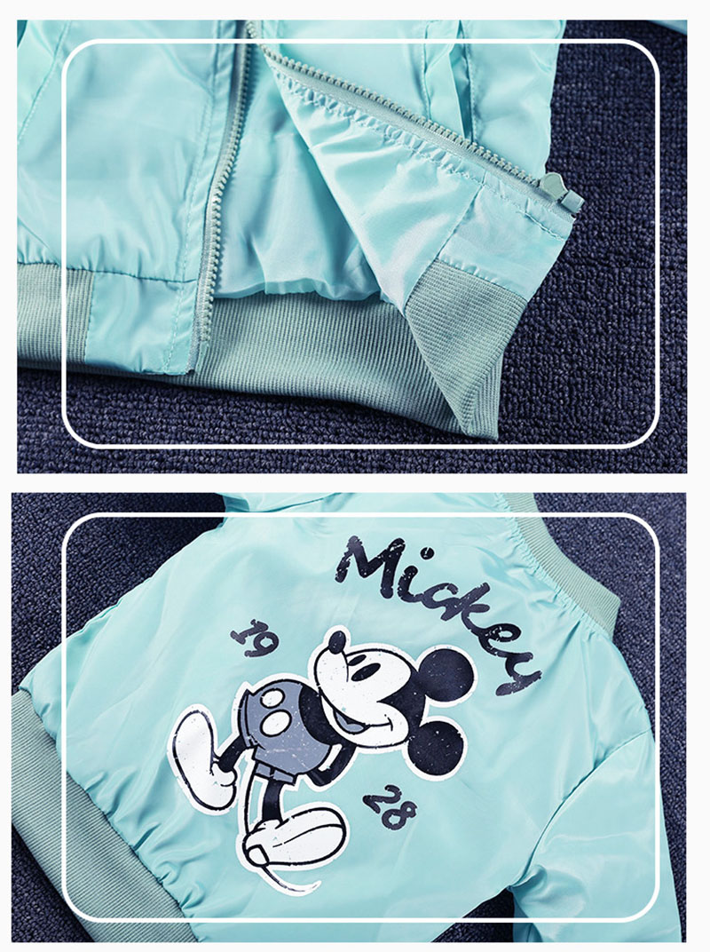 19 Mickey Denim Jacket For Boys Fashion Coats Children Clothing Autumn Baby Girls Clothes Outerwear Cartoon Jean Jackets Coat 25