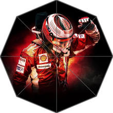 Hot Sale Custom Kimi Raikkonen Art Adult Universal Design Fashion Foldable Umbrella Good Gift Idea!Free Shipping U30-91