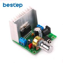 1PCS (A board) TDA7297 Power Amplifier Board 2.0 No Noise AC / DC 12V Finished Board(China)