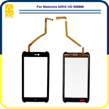 Phone Parts 4.3'' Touchscreen Panel Digitizer Front Glass Lens Sensor Touch Screen For Motorola AtRIX HD MB886