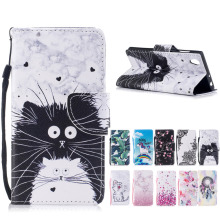 Buy Sony Xperia L1 wallet Leather Case Flip Sony Xperia L1 G3311 G3313 Dual Sim G3312 mobile Phone Cover bags coque cases for $4.49 in AliExpress store