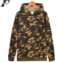 LUCKYFRIDAYF Solid Pullover Hoodie Winter Warm Cotton Black White Gray Navy Blue Camouflage 6 Colors Sweatshirt Men Hoodies Plus