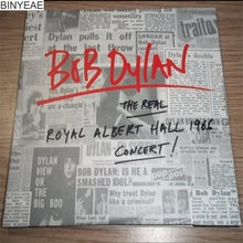 BINYEAE- new CD seal: BOB DYLAN THE REAL ROYAL ALBERT HALL 1966 2CD disc [free shipping](China)