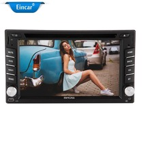 "6.2"" Eincar 2 DIN Video car stereo DVD/MP3/CD Player With WIFI Bluetooth GPS navigation USB/SD Aux-In ipod AM FM RADIO"
