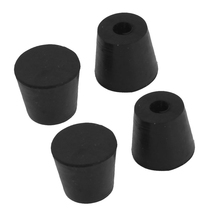 4 pcs 20mm x 17mm furniture Conical rubber feet Pad Covers Bumpers