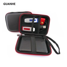 "GUANHE external HDD Cases Bag 2.5"" Hard Drive Backup WD my passport HHD Portable Drive for 500GB 1TB Seagate WD(China)"