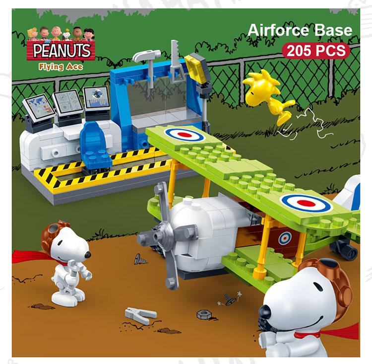 BanBao 7522 Airforce Base Air Plane Building Blocks 19