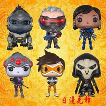 Original box 5 styles Funko POP Over watch Widowmaker/Reaper/WINSTON/SOLDIER:76 Action Figure OW kids toys Christmas Gift