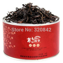 DaHongPao tea canned gifts package oolong tea oolong da hong pao tea Wuyishan dahongpao tea oolong green food beauty health care