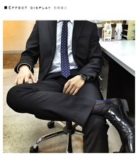 Free Shipping 3 Pairs/ Lot Male Suit Dress Sexy Silk Socks Sheer Mens Formal Socks Best Quality Man At Play Transparent Men(China)